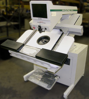 Remanufactured CS-400E Contact Systems through hole component insertion machine