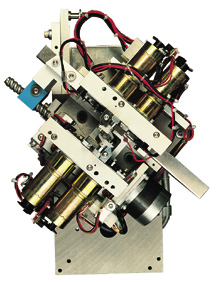 Cut & Clinch mechanism, CS-400E  component insertion machine